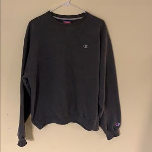 Champion Grey Crewneck Sweatshirt